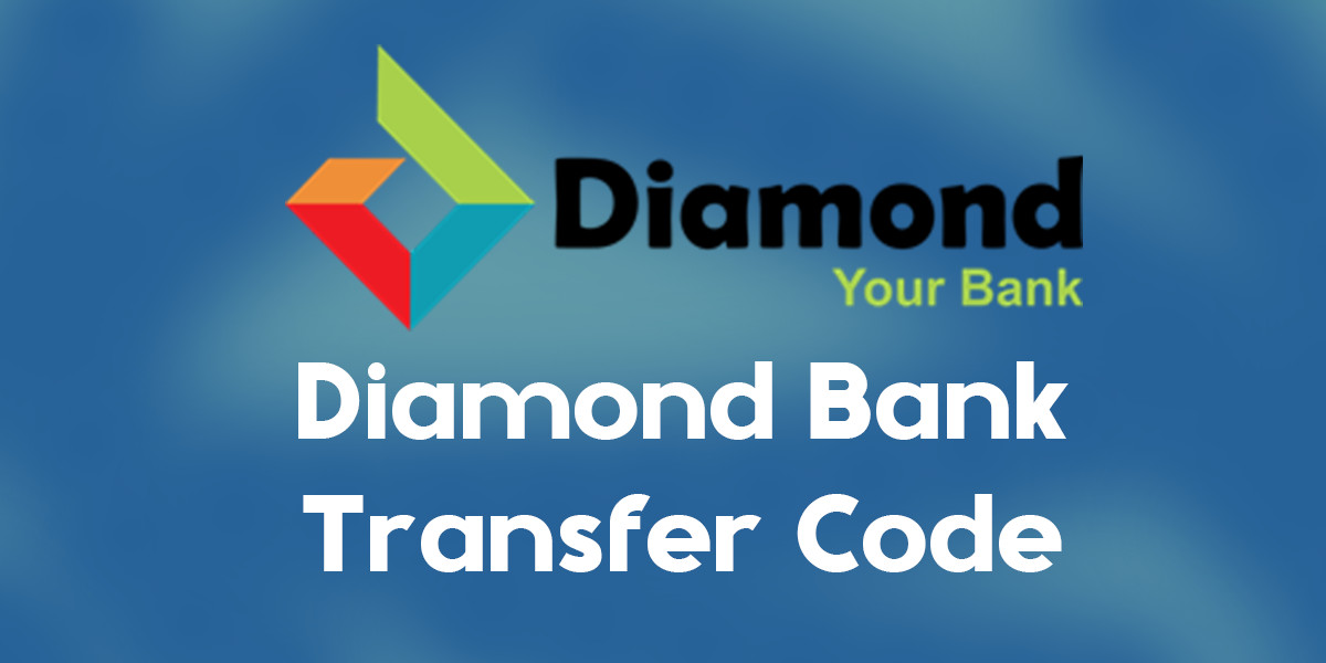 diamond bank transfer code