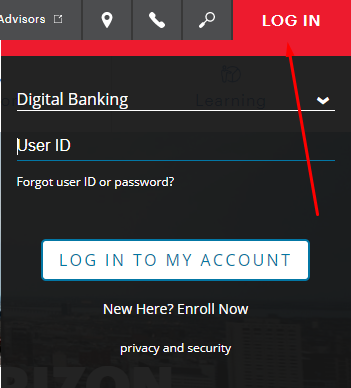 first horizon bank login