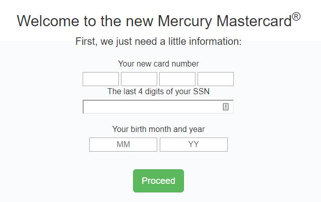 mercurycards.com activate