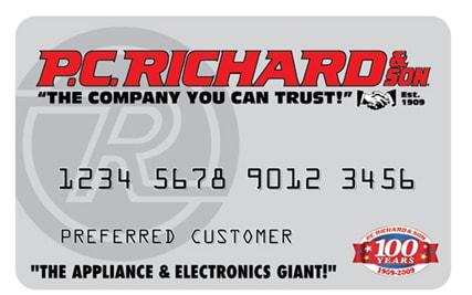 PC Richard Credit Card