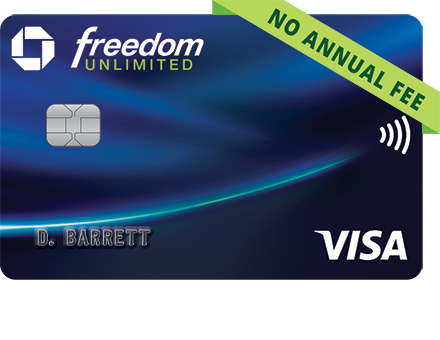 GetFreedomUnlimited Chanse credit card