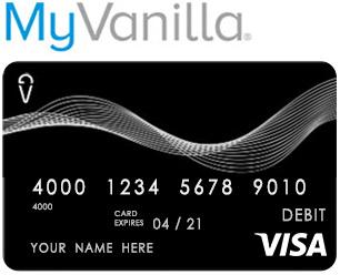 MyVanilla Credit Card