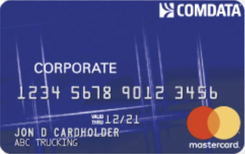 Comdata Fuel Card