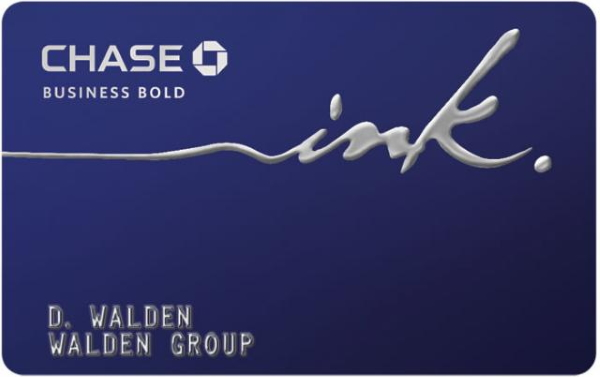 Chase Bold Business Card