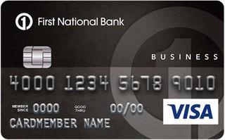 First National Bank Omaha Visa Card